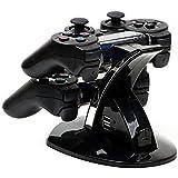 MP power ® Docking station Ladestation für 2 Controller für Sony Playstation 3 PS3