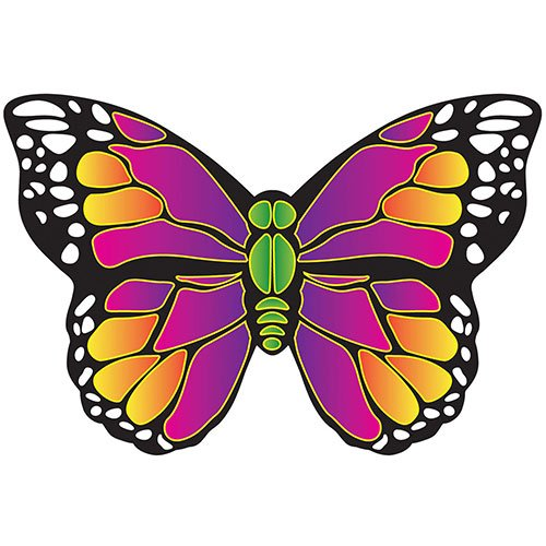 X Kites Butterfly MicroKite-4.7 Inches