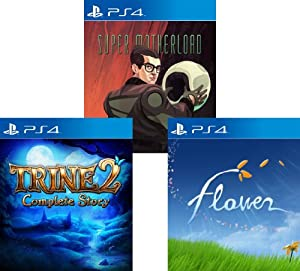PS4 3-Game Indie Bundle: Flower, Trine 2 and Super Motherload - PS4 [Digital Code]
