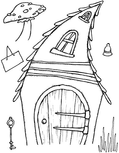 "Sweet Dixie Crooked ""Fairy"" Door "", colore: trasparente"