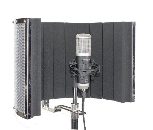 Post Audio U1600 Silver Series Usb Condenser Mic With Arf-32 V.4 Vocal Booth