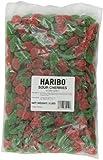 Haribo Gummi Candy, Sour Cherries, 5-Pound Bag