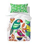 MOSHI MOSHI Juego De Funda Nórdica Pretty Parrots (Multicolor)