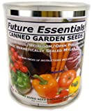 Can of 22 Different Heirloom/non-gmo Canned Vegetable / Garden Seeds for Long Term Storage
