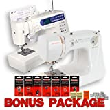 Janome Jem Gold 660 and Memory Craft 6500P Computerized Sewing Machine COMBO PACKAGE w/ FREE BONUS
