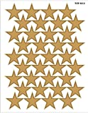 Teacher Created Resources Large Gold Foil Stars Stickers, Multi Color (4212)