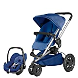 Quinny Buzz Xtra Blue Base and Pebble Car Seat