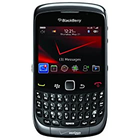BlackBerry Curve 3G 9330 Phone, Gray (Verizon Wireless)