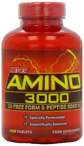 MET-Rx Amino 3000 Muscle Size and Recovery Tablets - Tub of 150