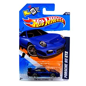 hot wheels porsche 911 gt2 124 247 toys games. Black Bedroom Furniture Sets. Home Design Ideas