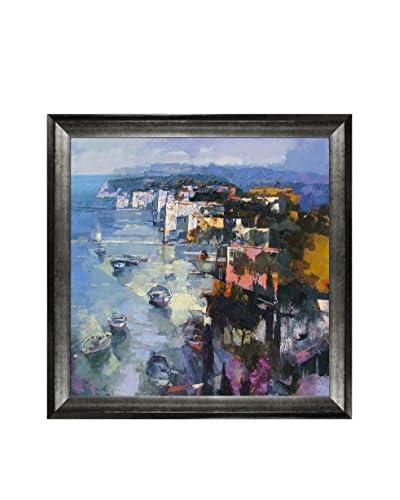 Alex Bertaina Sardegna Nel Cuore Framed Canvas Print