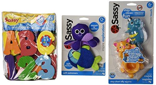 Sassy Bath Toy Gift Set - 1