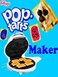 POP TARTS MAKER DIY Pop Tart Recipe Mini Dessert Pie Pastries Blueberry Berry Kids Treat