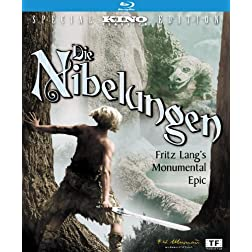 Die Nibelungen: Kino Classics Deluxe Remastered Edition [Blu-ray]
