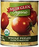 Muir Glen Organic Whole Peeled Plum Tomato, 28-Ounce Cans (Pack of 12)