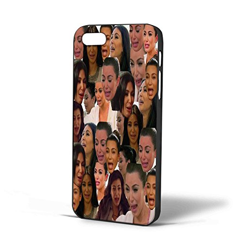 save off a6055 616a0 Kim Kardashian Crying face Collage for Iphone Case (iPhone 6 plus Black)
