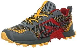 Reebok Women's Wild Trail Running Shoe,Flat Grey/Techy Red/Neon Orange/Ironstone,6.5 M US