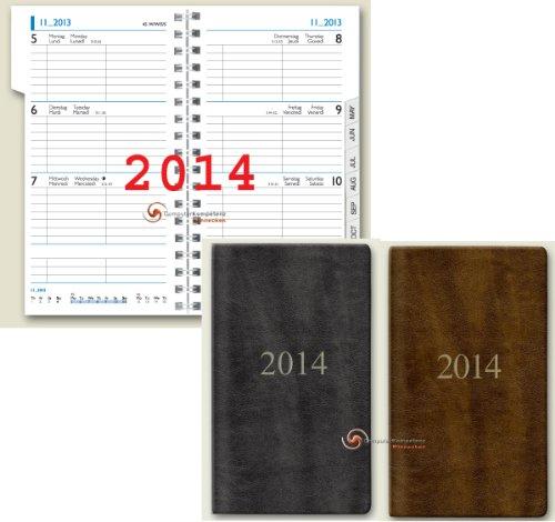 Brunnen Taschenkalender 2014 Senegal A6 9x15cm 10-75632 Kalender 2014 HOCHFORMAT