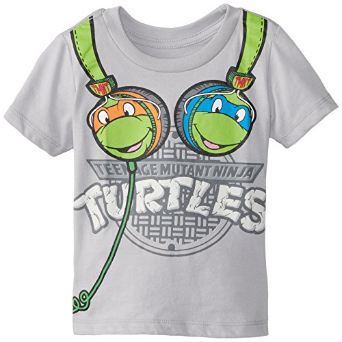 Teenage Mutant Ninja Turtles Little Boys' TMNT Headphones Toddler Boys Tee