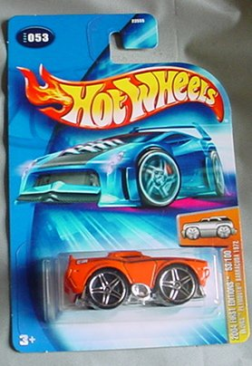 Hot Wheels 2004 Blings Plymouth Barracuda 1972 ORANGE First Edition #053 #53 53/100 - 1