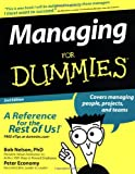 Managing For Dummies (0764517716) by Bob Nelson