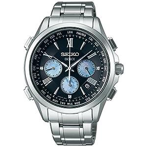 SEIKO DOLCE Men's Watch Solar radio fix sapphire glass 10 ATM water resistant SADA031