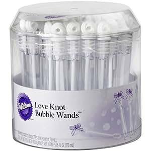 Wilton Love Knot Bubble Wand 36/Pkg