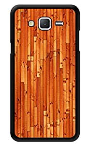 """Humor Gang Wooden Pattern Printed Designer Mobile Back Cover For """"Samsung Galaxy j2"""" (3D, Glossy, Premium Quality Snap On Case)"""