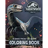 Jurassic World Fallen Kingdom Coloring Book: 30 High Quality Illustrations from the Movie (2018)