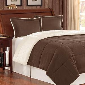 Premier comforter corduroy berber comforter mini set full queen chocolate ez2eyl51pgs - Corduroy bedspreads ...