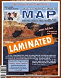 Lake Powell and Its 96 Canyons Boating and Exploring Map Gloss Laminated