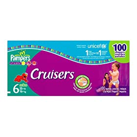 Pampers Cruisers, Economy Plus Pack