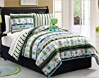 Zoomates 9pc Robbie the Robot Full Comforter Set Plush Toy Included