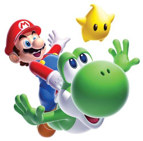 Roommates 883Slm Mario Yoshi Peel & Stick Giant Wall Decal front-1021933