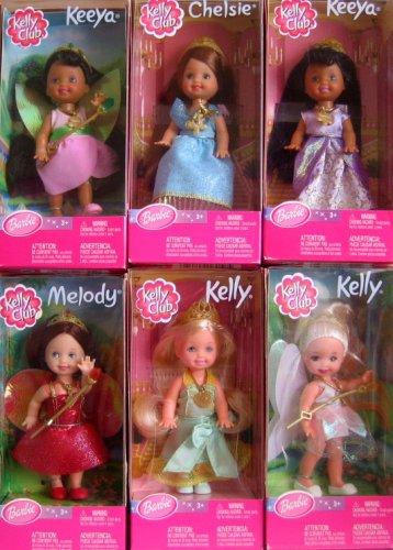 Barbie Kelly Club - Dream Club - Set of 6 Kelly Dolls From Canada - Includes Kelly X 2, Chelsie, Melody and Keeya (AA) X 2 - Buy Barbie Kelly Club - Dream Club - Set of 6 Kelly Dolls From Canada - Includes Kelly X 2, Chelsie, Melody and Keeya (AA) X 2 - Purchase Barbie Kelly Club - Dream Club - Set of 6 Kelly Dolls From Canada - Includes Kelly X 2, Chelsie, Melody and Keeya (AA) X 2 (Barbie, Toys & Games,Categories,Dolls)