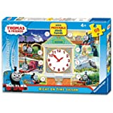 Thomas the Tank Engine - Right on Time (60 PC Puzzle with Movable Clock Hands)