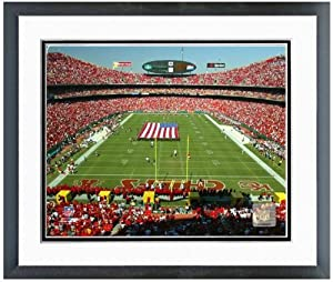 Kansas City Chiefs Arrowhead Stadium NFL Photo 12.5 x 15.5 Framed by NFL