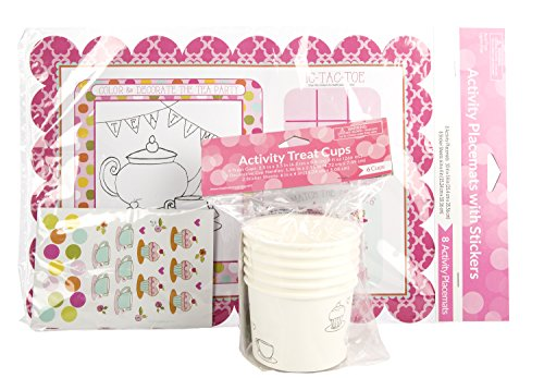 Maven Gifts: Tea Time Activity Set (Make Your Own Tea Set compare prices)