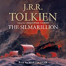 The Silmarillion Audiobook by J. R. R. Tolkien Narrated by Martin Shaw