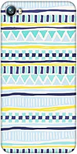Snoogg Tribal Thorn Designer Protective Back Case Cover For Micromax Canvas Fire 4 A107