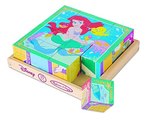 Disney Princess Wooden Cube Puzzle