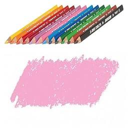 JOLLY X-BIG Delta Colored Pencil, Pink, Three 12-Packs = 36 pcs. 3399-0009