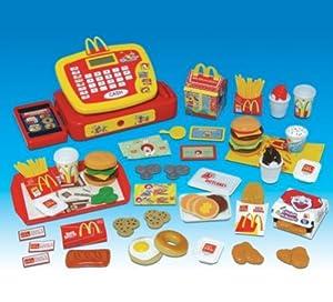 Mcdonalds pretend play food set for toy for Kitchen set toys amazon