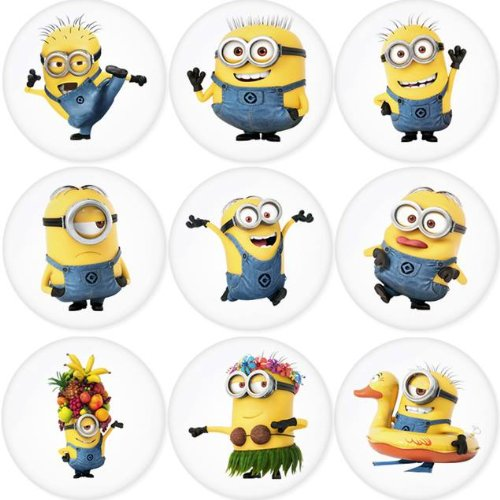 DESPICABLE ME Round Badge 1.75