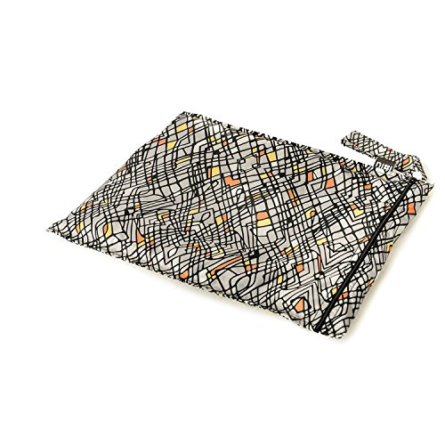 Bumkins Nixi Recycled Fabric Wet Bag, Echo - 1
