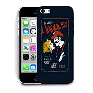 Snoogg Lidraulico Designer Protective Back Case Cover For IPHONE 5C
