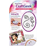 Purple Cows 7100 Craftgeek Wind It Wire Embellishments Kit, Includes 9-Feet of Gold and Silver Wire, Purple