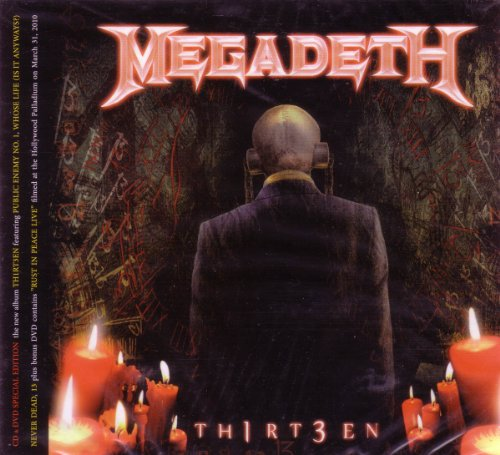 Megadeth - Thirteen CD & DVD Special Edition by Megadeth