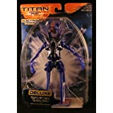 RAPID ATTACK QUEEN DREJ w/ Battle Action Sounds TITAN A.E. Deluxe Electronic Power 2000 Action Figure