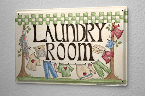 retro-tin-sign-washroom-clothesline-8x12